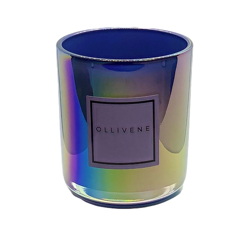 Luxury Vessel Iridescent Blue