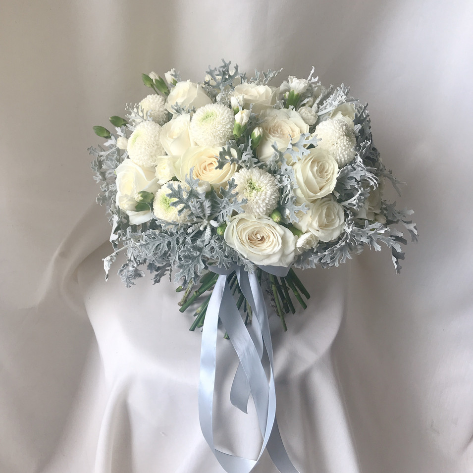 Hand tied Winter Theme Bouquet
