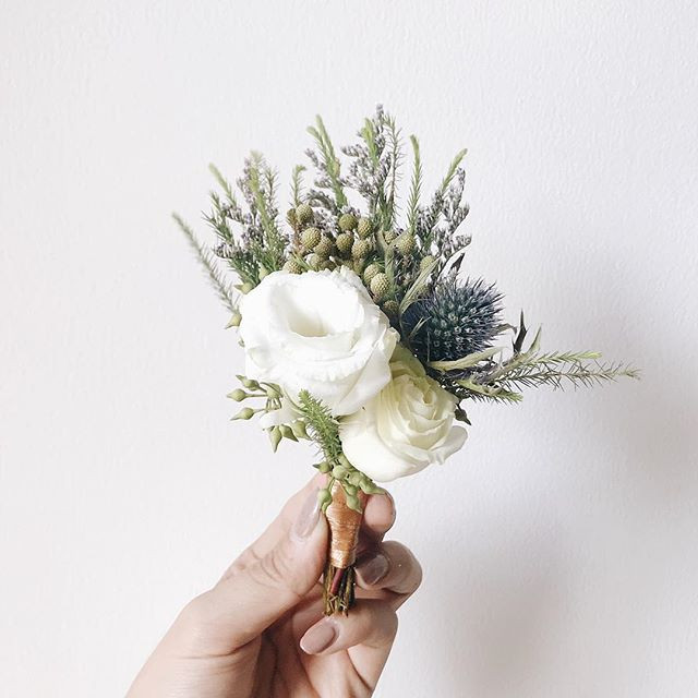 Boutonniere by #teamrosyposy