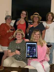 Lovely Ladies of Read Between The Wines Book Club, Anniston, Alabama