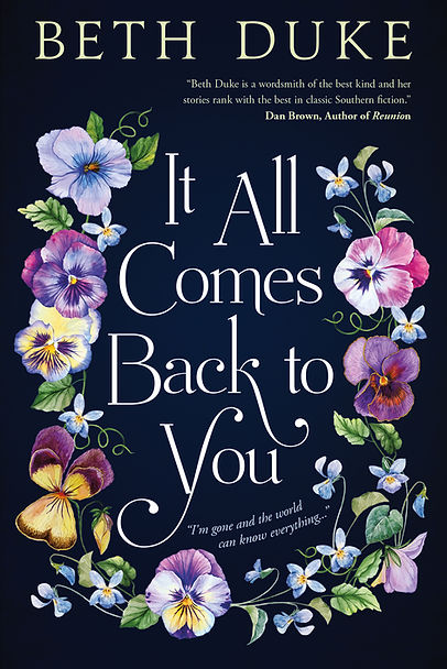 It All Comes Back to You Front Cover by