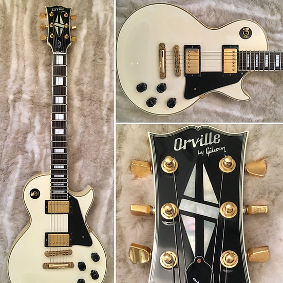 Orville by Gibson - Les Paul Custom - White - MINT- 1991