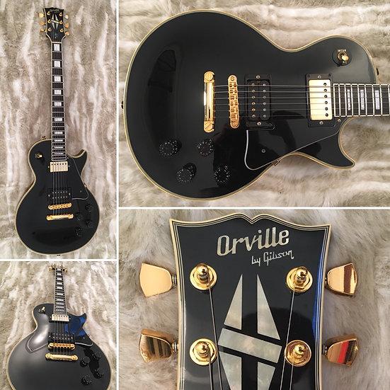 Orville by Gibson - Les Paul Custom - Black - 1990