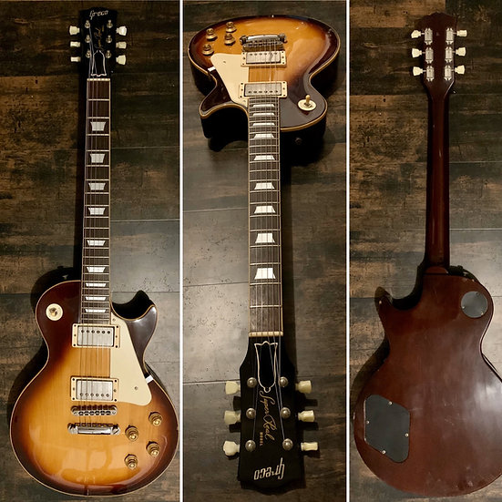 GRECO Les Paul Standard Super Real Tabacco 1980
