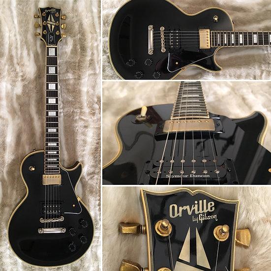 Orville by Gibson - Les Paul Custom - Black - 1988