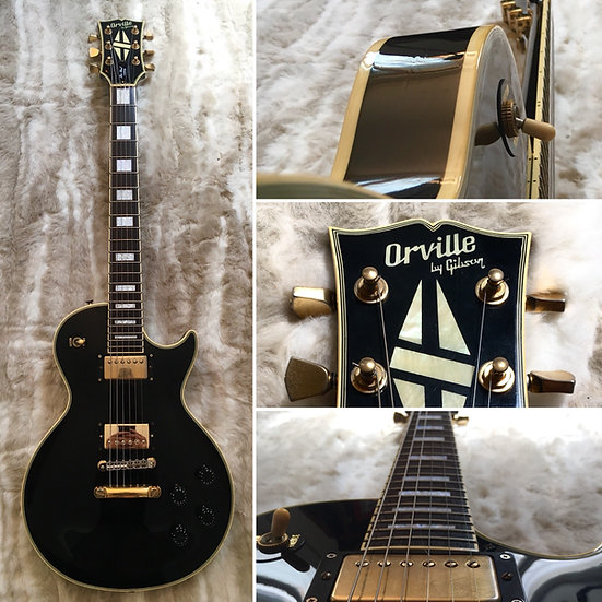 Orville by Gibson - Les Paul Custom - Black - 1989