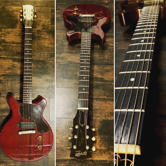 Orville by Gibson - Les Paul Junior -  Double Cut Cherry -1988