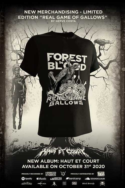 Pre-Order - T-Shirt Real Game Of Gallows