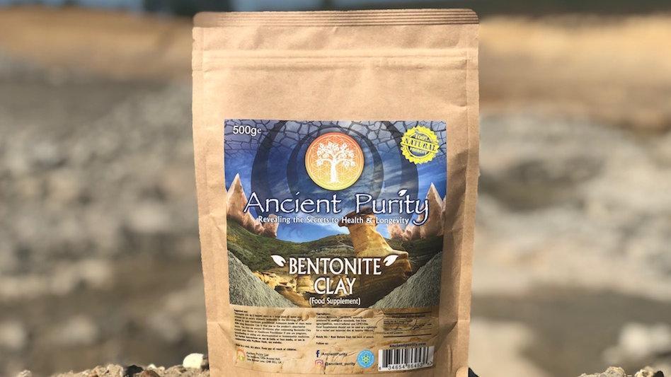 Bentonite Clay - Organic 500g