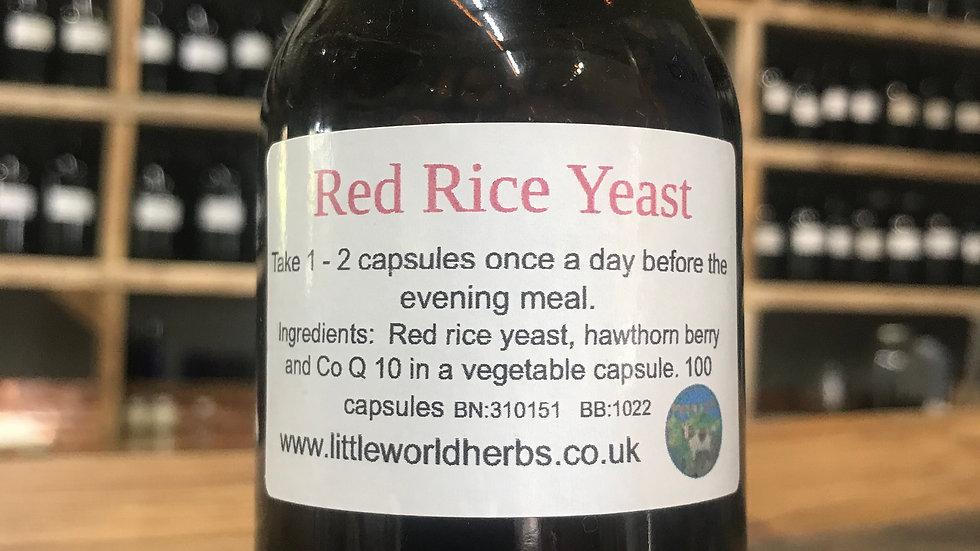 Red Rice Yeast Capsules - 100 caps