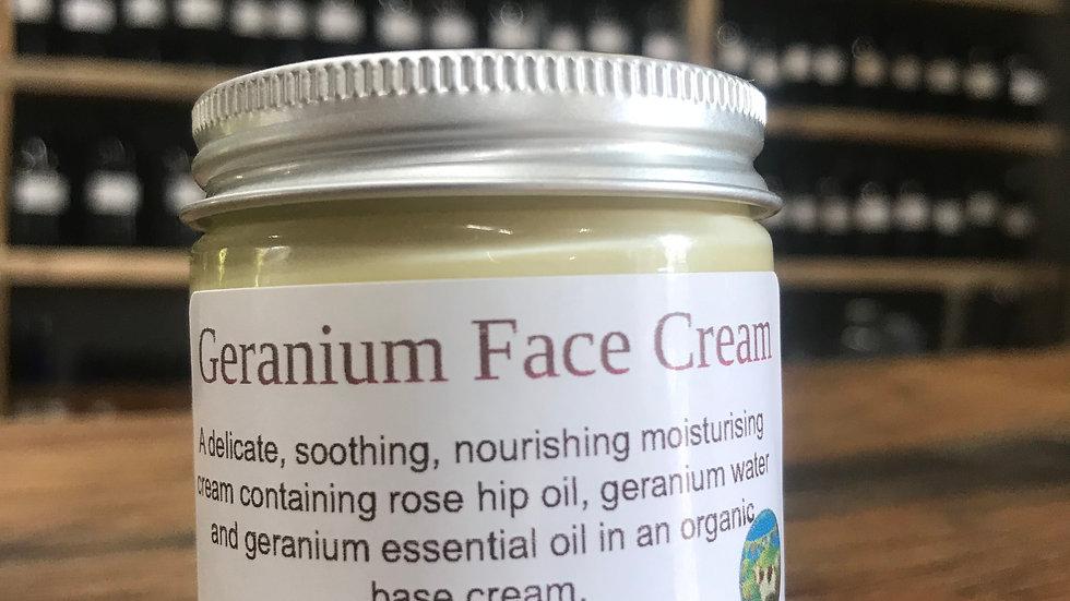 Geranium Face Cream - 30g