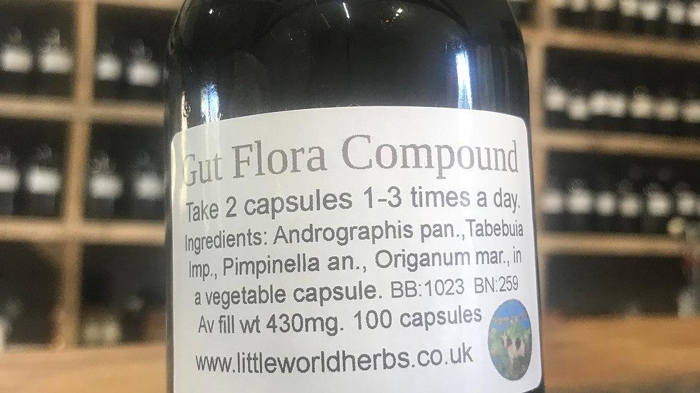 Gut Flora Compound Capsules x 100