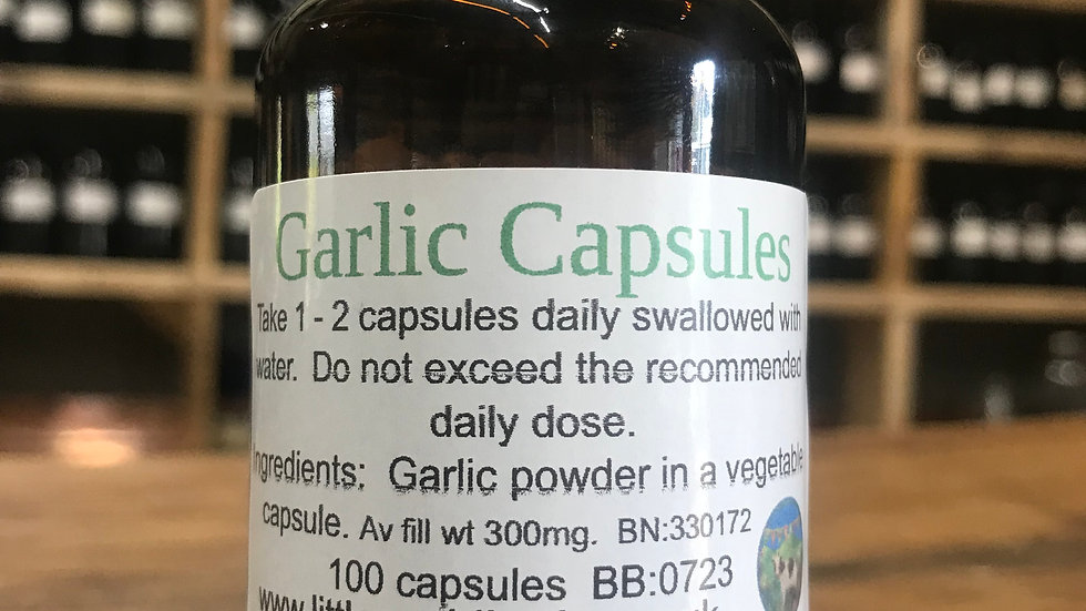 Garlic Capsules x 100
