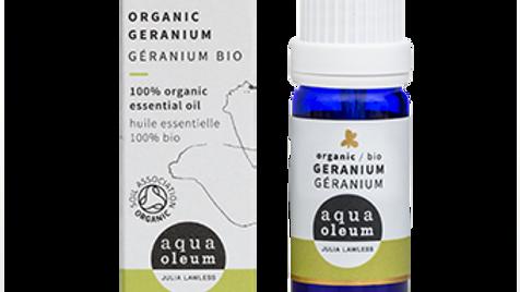 Geranium Organic Essential Oil - 10ml