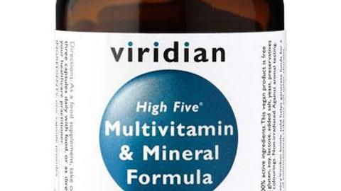 High Five Multivitamin and Mineral Formula - 30 caps