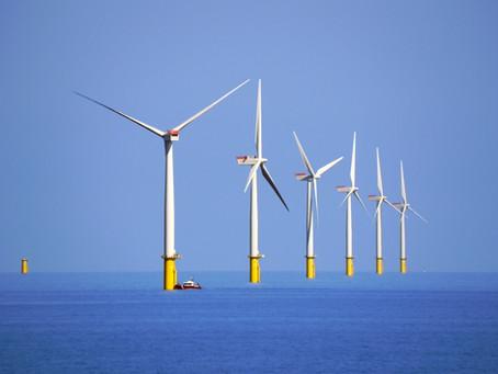 U pobřeží Británie je největší pobřežní větrná elektrárna na světě