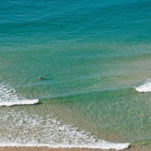 Mollymook Beach - lone swimmer