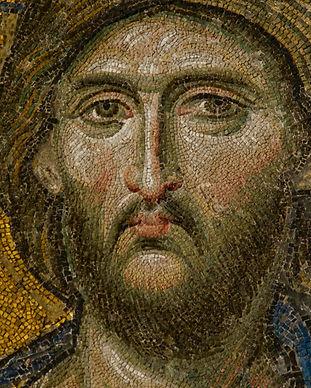 Cristo Pantocrátor (Parte del Mosaico de