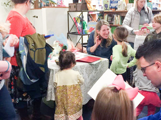 Twinkle Twinkle Little Car book signing at Riverstone Books