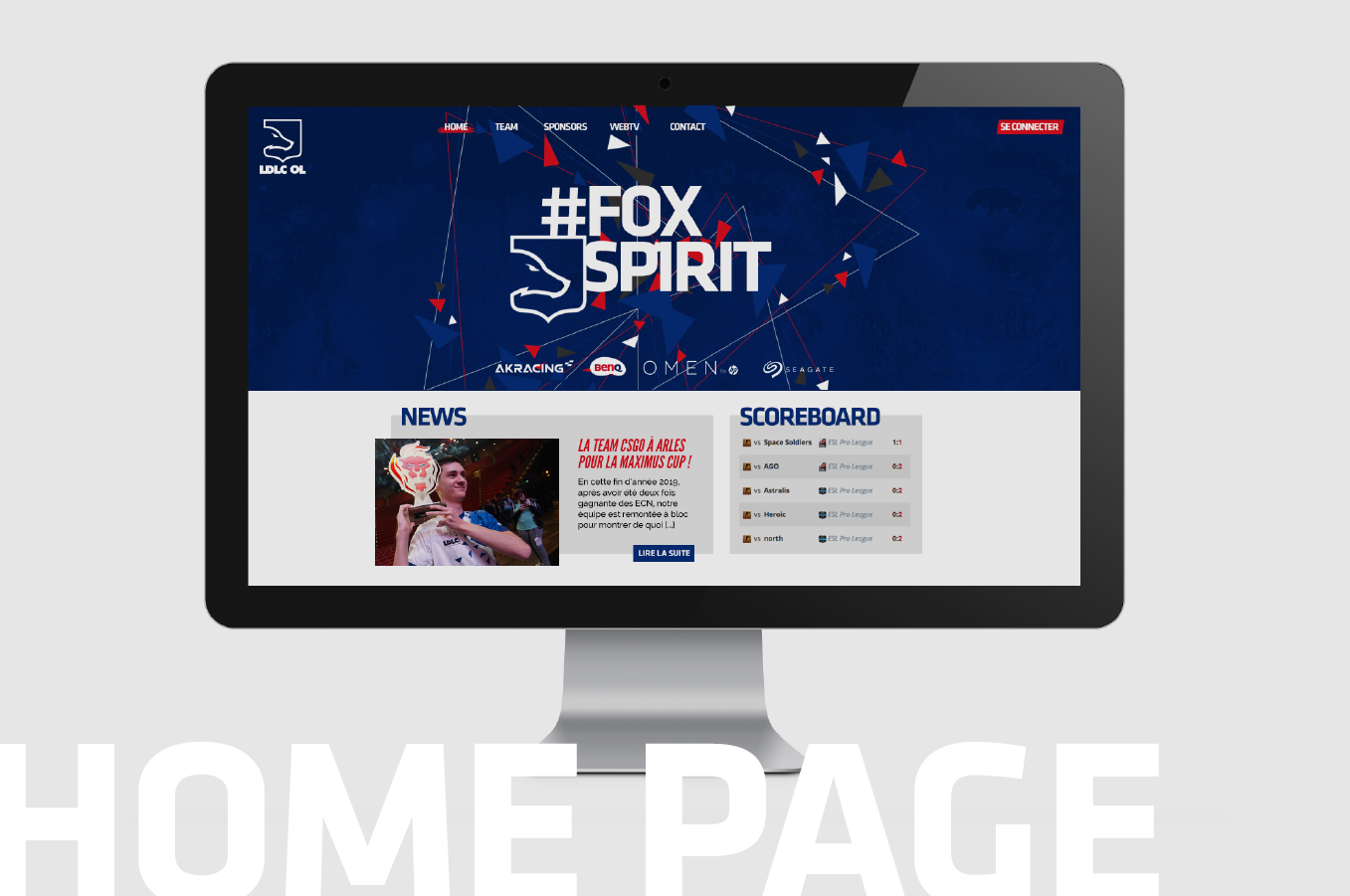 Home page web