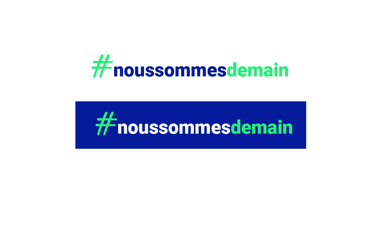 Logo #noussommesdemain