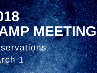 Camp Meeting Reservations