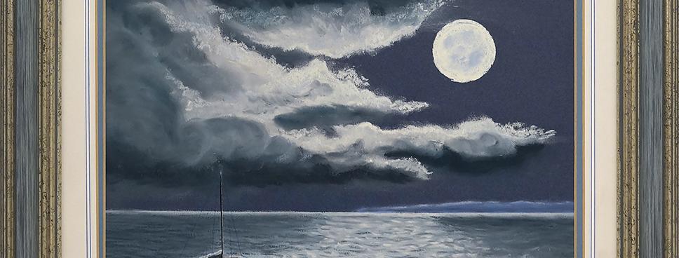 """MOONLIGHT SEA VIEW"""