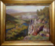 у белой скалы | белая скала | Алексей Петриков | Alex Petrikov | Landscape | пейзаж | природа | art.vin | Artmagic | Артмагия