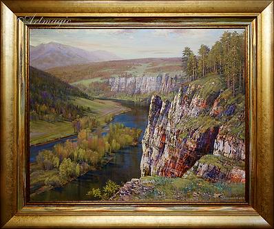 у белой скалы | горы | Алексей Петриков | Alex Petrikov | Landscape | пейзаж | природа | art.vin | Artmagic | Артмагия