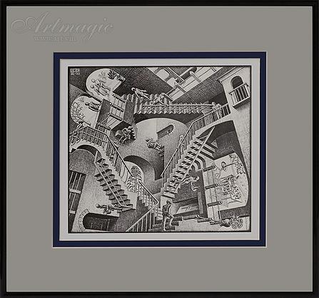 Относительность | Мауриц Эшер | M.C. Esher | art.vin | Artmagic | Артмагия