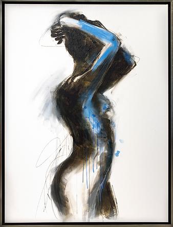 Обнажённая |  blue Nude | Cuite | Милашки | art.vin | Artmagic | Артмагия