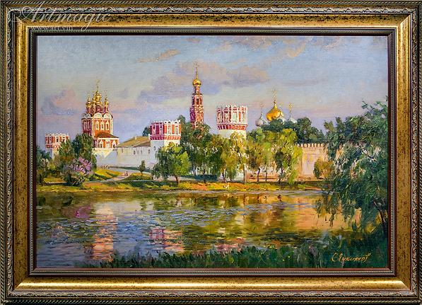 Новодевичий монастырь | Викентий Лукиянов |  art.vin
