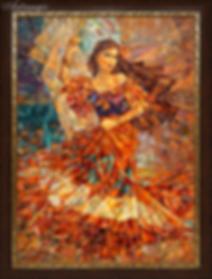 Танцовщица    Антон Колоколов   пейзаж   работы художника   кпить картину в Москве   Artmagic   Артмгия   artvin