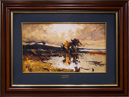 Осенний пейзаж | Autumn landscape | Виктор Черней | Victor Cherney | Landscape | пейзаж | art.vin | Artmagic | Артмагия