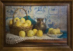 Антоновка | яблоки | Владимир Чёрный | Vladimir Cherniy | Still life | Натюрморт | art.vin | Artmagic | Артмагия