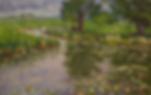 Моросит | дождик в живописи | Дмитрий Сысоев | Dmitry Sysoev | Landscape | пейзаж | art.vin | Artmagic | Артмагия