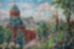 Москва.Кремль. Июнь  | Антон Колоколов | пейзаж | работы художника | кпить картину в Москве | Artmagic | Артмгия | artvin