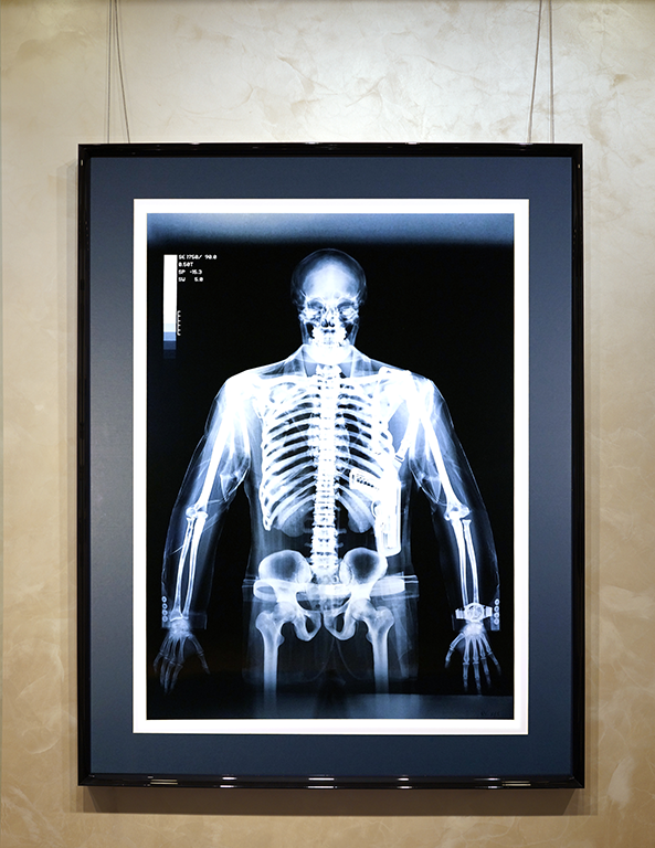 Gun man | Nick Veasey | art.vin | artmagic | Артмагия