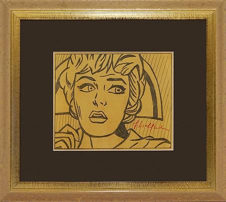 Медсестра | Noise | Рой Лихтенштейн | Roy Lichtenstein | Cuite | Милашки | art.vin | Artmagic | Артмагия
