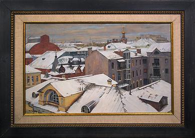 Сумерки | Владимир Чёрный | Виды Москвы | art.vin | Artmagic | Артмагия