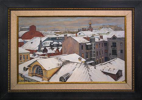 Сумерки | Владимир Чёрный | Городской пейзаж | art.vin | Artmagic | Артмагия