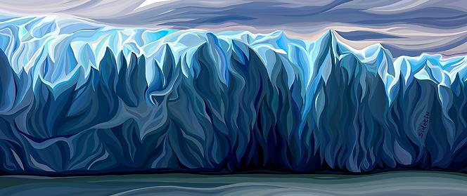Айсберг | Василий Сидорин | купить живопись | купить картину | эксклюзив | Artmagic | Артмагия | artvin