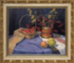 Калина спелая | картина натюрморт | Алексей Петриков | Alex Petrikov | Landscape | пейзаж | природа | art.vin | Artmagic | Артмагия