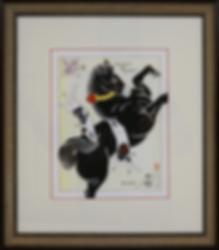 Коты с конём | Kazuaki Kitamura Horitomo | Cat | Котики | art.vin | Artmagic | Артмагия