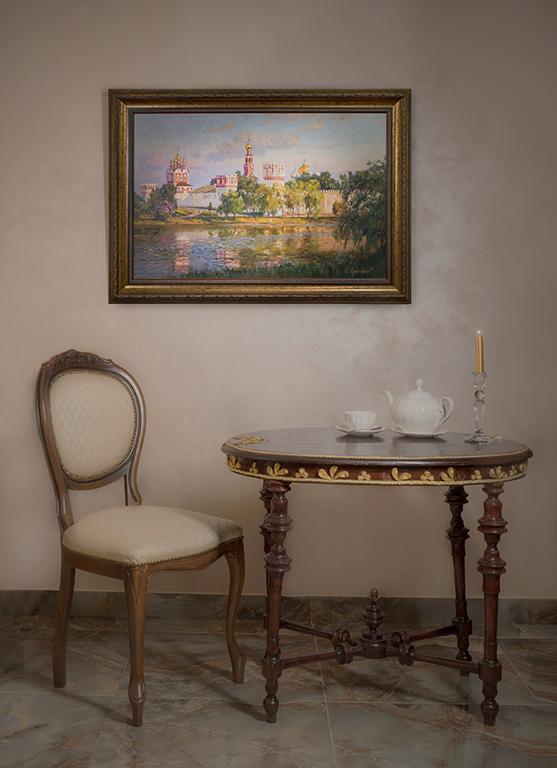 Новодевичий монастырь | Викентий Лукиянов |  в интерьере art.vin