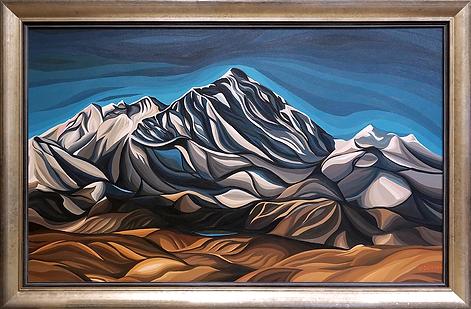 Эверест | Everest | Василий Сидорин | Vasily Sidorin | Landscape | пейзаж | art.vin | Artmagic | Артмагия