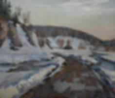 Весенняя дорога | картина с пейзажем | Алексей Петриков | Alex Petrikov | Landscape | пейзаж | природа | art.vin | Artmagic | Артмагия