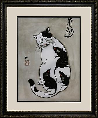 """Крысы"" | Kazuaki Kitamura Horitomo | Cat | Котики | art.vin | Artmagic | Артмагия"