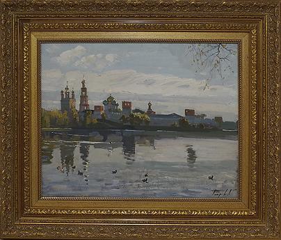 Новодевичий монастырь | Дмитрий Петров | Городской пейзаж | art.vin | Artmagic | Артмагия