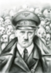 Самый человечный человек | The most human human | Адольф Гитлер | Adolf Hitler | Despots | Тираны | art.vin | Artmagic | Артмагия